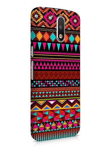 Cover Affair Aztec Printed Designer Slim Light Weight Back Cover Case for Samsung Galaxy J7 Pro (Pink & White & Blue & Black & Other)