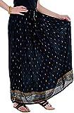 Ceil Women's Cotton Skirt (Black)
