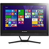 Lenovo C40 21.5 inch All-in-One PC (Black) - (Intel Pentium 3805U, 4Gb RAM, 1Tb HDD, DVDRW, WLAN, BT, Camera, Integrated Graphics, Windows 10 Home)