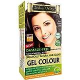 Indus Valley Damage Free Gel Colour For Hair Dark Brown 3.0