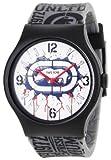Marc Ecko Reloj Análogo clásico para Mujer de Cuarzo con Correa en Resina E06510M1