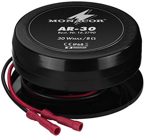 MONACOR AR-30 Wetterfester Audio-Exciter/Resonator (Pa-lautsprecher Car-audio)