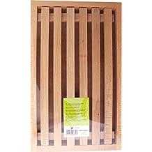 Birambeau 8830 - Tabla para cortar pan (incluye compartimento para migas, 385 x 31 x 215 cm, madera de haya)