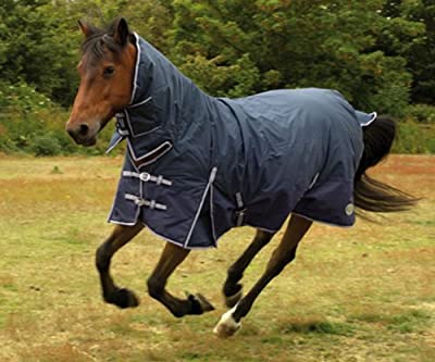 "Rhinegold Aspen 6ft 9"" Heavy Weight 350 Gram Fill Combo Full Neck Waterproof Turnout Horse Rug - low-cost UK light store."