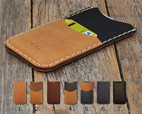 HTC Hülle Leder Tasche Cover Case personalisiertes Etui durch Prägung mit ihrem Namen. Für U11+ U11 Life X10 U Play Ultra Desire 555 650 10 Evo Bolt pro Lifestyle One a9s Prime 628 830 825 630 530 626