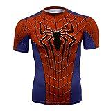 God Driver T-Shirt pour Venom Spider-Man Captain America Anime Impression 3D Extérieur Décontracté Top Jeunesse/B/XXL