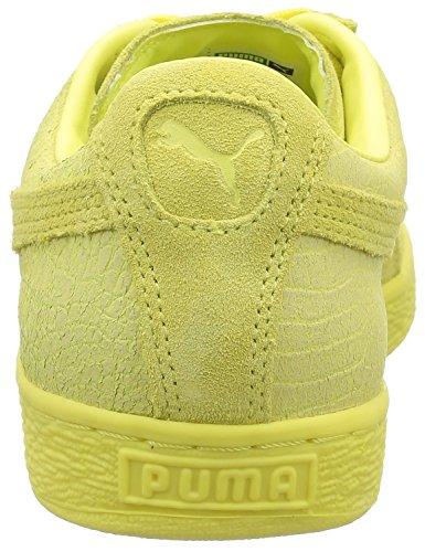 Puma 361372, Baskets Basses Mixte Adulte Jaune (Limelight)