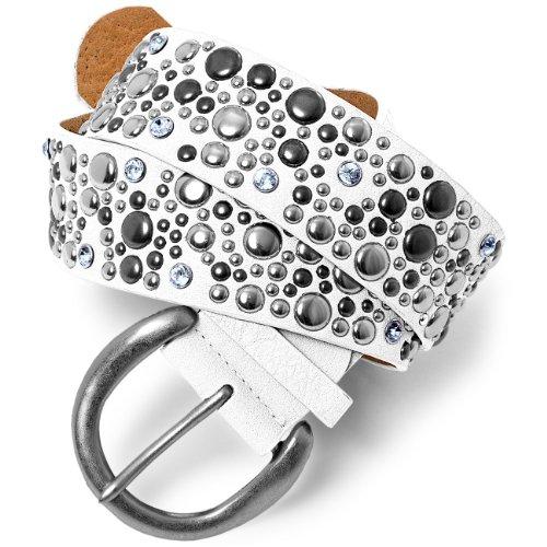 caspar-gu248-ceinture-cloutee-large-pour-femme-avec-rivets-et-strass-interieur-cuir-taille100couleur
