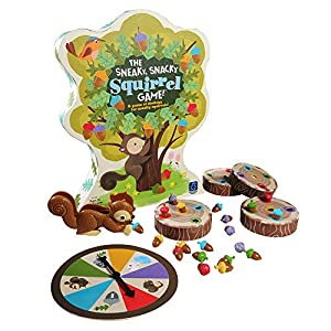 Learning Resources Resources-3405 Juego para asociar Colores Sneaky, Snacky Squirrel Game, (3405)