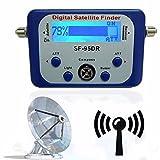 DIGITAL SATFINDER, ELEGIANT LCD Display Satfinder Messgerät digital mit LCD-Display mit Satellitenerkennung und Kompass