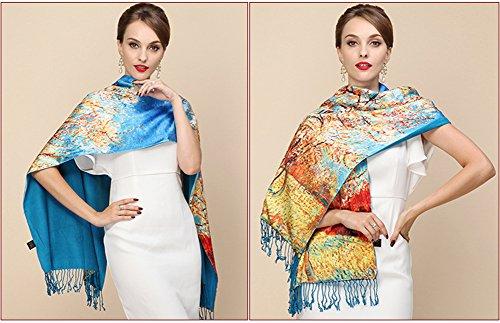 Zoom IMG-2 b joy sciarpa donna blau