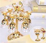GuiXinWeiHeng Bicchiere di vino bianco set Bicchiere di liquore di maotai bicchiere Calice vino di casa vino bicchiere di vino , F