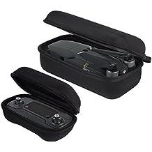 Kingwon Funda de transporte Carrying Case Eva duro Bolsa de Almacenamiento para Drone DJI Mavic Pro y Control Remoto, Negro