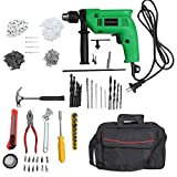 #4: Truestar Eco 13mm 650W Impact Drill Machine Kit with Reversible Function & Variable Speed + 250 Accessories (In Laptop Bag)