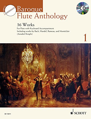 Baroque Flute Anthology Volume 1 +CD - Flûte traversière et piano