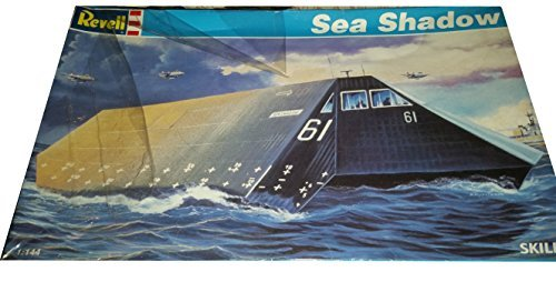 Revell US Navy Sea Shadow 1:144 Scale Model Kit - Skill 2 by Revell (Revell 1 Kits 144 Model)