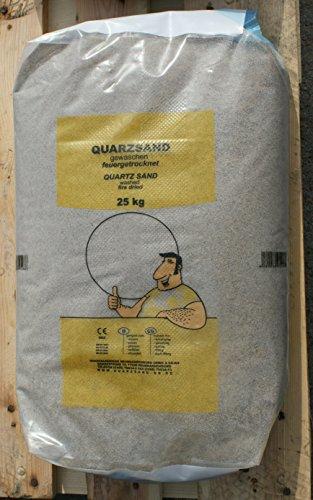 25kg Fugensand keine organischen Bestandteile absolut unkrauthemmend Quarzsand 0,3-0,8mm gewaschen , feuergetrocknet, gesiebt