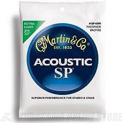 Juego de cuerdas - Martin MSP4000 - Guitarra Acústica - Bronce/Fósforo