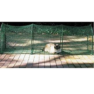 Kittywalk Outdoor Net Cat Enclosure for Decks, Patios, Balconies 51uUgkHaCZL