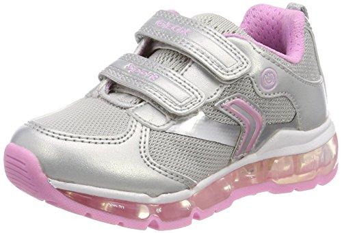 oid Girl A Sneaker, Silber (Silver/Pink), 36 EU (Mädchen-patent Schuhe)