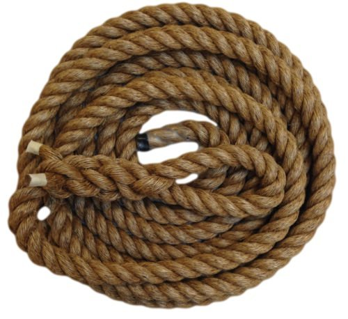 ropeservices UK 10mts X 32mm Kämpfen Seil mit Soft Eye Splice & geklebt Schrumpfschlauch