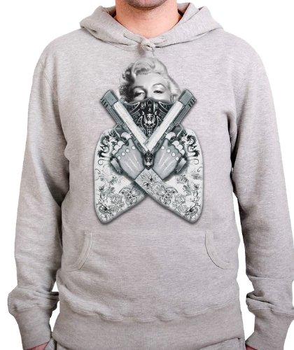 stylotex-hoodie-gangster-marilyn-with-guns-grossexxlfarbeheather
