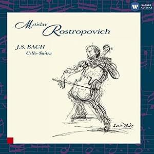 Bach: Cello Suites. Rostropovich [Boxed set]