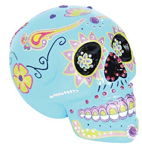 Sunstar Blue Sugar Skull Halloween Prop (Sugar Skull Halloween Blue)