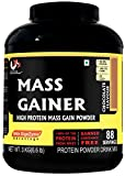Muscle Mass Gainer (Whey Protein) Supplement Powder Chocolate, 3 Kg / 6.6 Lb