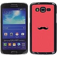 WonderWall Carta Da Parati Immagine Custodia Rigida Protezione Cover Case Per Samsung Galaxy Grand 2 (Pesche Vita Bassa Dei Pantaloni)