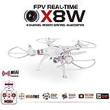 Trendy de Planets–® Syma x8W Real Time FPV dron cuadricóptero/HD cámara WIFI con sonido de grabación