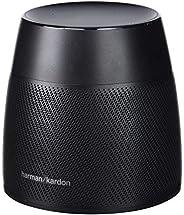 Harman Kardon Astra, Altavoz Bluetooth (Amazon Alexa, Conexión WiFi, Comandos de Voz y Sonido), Opcional, Negr