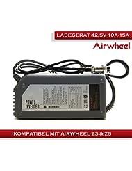 AIRWHEEL N36batería Cargador de cigarrillos 42.5V para S de scooter eléctrico Patinete y todos los 42.5V de ion de litio recargables