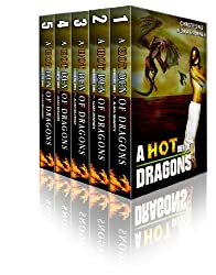 A Hot Den of Dragons: A Five Story Dragon Erotica Bundle