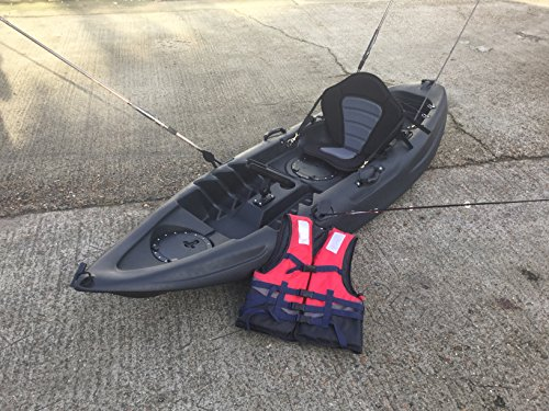 Cambridge Single Wildkayak Kajak M schwarz