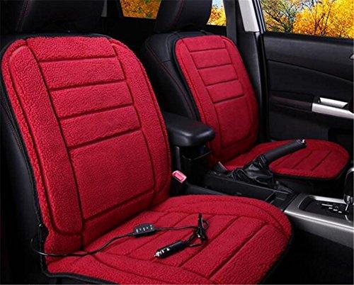 GEARS PANDA Auto Heizkissen Plüsch 12V 24V anit-Rutsch Winter Hot Pad Single Seat , B Feuer Lkw-bett