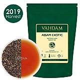 Foglie di tè Assam con punte dorate, 100gr, (50 tazze) - Forte, maltato e ricco - Foglie esotiche di tè Assam - Tè nero puro al 100% certificato - Tè all'inglese