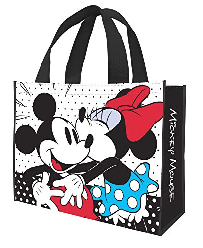 Tote Bag - Disney - Mickey & Minnie Large Shopper New Licensed 89073 by Disney