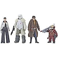"Star Wars - Force Link 2.0 Mission on Vandor-1 3.75"" Figure Set Hasbro E1093 - 4 figurines"
