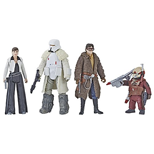 Star Wars – Force Link 2.0 Mission on 'vandor-1 3.75 Figure Set Hasbro e1093 – 4 Figuras