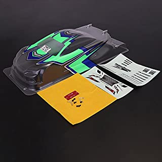 KINGDUO Killerbody 48640 Aeolus K1 Printed Fluorescence Green Body Shell Semi-Finished for Hal' 10 Touring Car