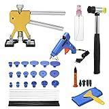 Docooler Paintless Dent Repair Tools Kit Dent Lifter Puller Glue Tabs Glue Gun Tools Glue Sticks 39pcs EU Plug