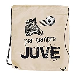My Custom Style Sacco Borsa Zaino Poliestere#Juve#34×39,