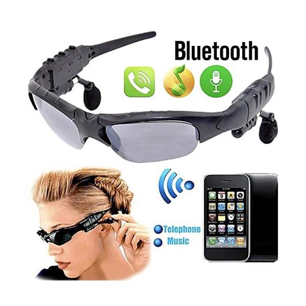 Multifuncionales Móviles Digitales, Gafas De Sol De Los Vidrios De Bluetooth Bluetooth para Auriculares De Manos Libres… 1