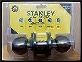 #1: Stanley Tubular cylindrical lock entrances ( Antique Brass )