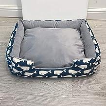 YSDTLX Cama para Perro Perrera Extraíble Perrera Gato Mascota Nido Perrera Grande Cuatro Estaciones, Azul