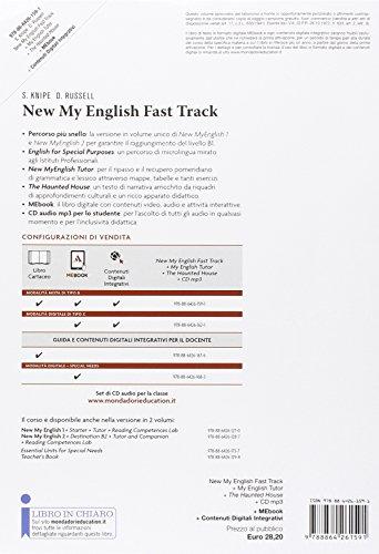 New my english fast track. Student book-Workbook-Tutor-Haunted house. Per le Scuole superiori. Con CD Audio formato MP3. Con e-book. Con espansione online