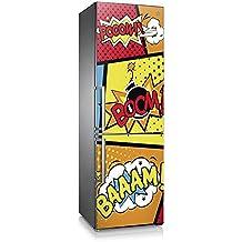 Vinilo para nevera | Stickers Fridge | Pegatina Frigo | Boom (185x60)