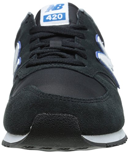 New Balance U420 D, Baskets Basses Mixte Adulte Noir (nkb Black)