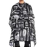 Rcool Vestidos De Peluquería Peluquería Diseño De Corte Estilista Peluquero Del Cabo De Paño - Capa para Hombres y mujeres (medium, estilo A (140x150cm))